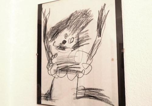 claudias childhood artwork