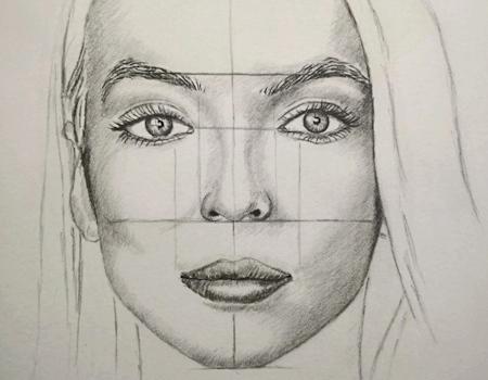Gesichtsproportionen - Wie zeichnet man ein Gesicht